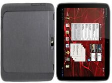 Skinomi Brushed Steel Tablet Body Skin+SP Cover for Motorola DROID XYBOARD 10.1