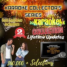 Computer Karaoke Song System For Your Laptop - Over 360,000 Song Selections