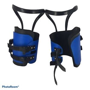 Teeter Hang Ups by Spyder SL Padded Inversion Gravity Boots With Calf Loops