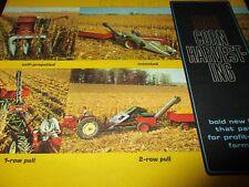 """New Idea """"1967 Corn Harvesting"""" Equipment Sales Brochure"""