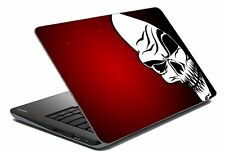 "Skull Laptop Skin Notebook Skin Sticker Cover Art Decal Fits 14.1"" to 15.6""8s"