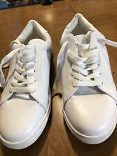 Fever Sole Tennis Shoes. Size 40 9.5 whiteAnd Clean. White In Color.