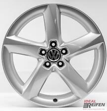 4 VW Tiguan 5n Cerchi Lega 19 Pollici 7,5x19 Et29 Originale Audi Cerchioni S