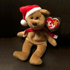 Ty Beanie Baby 1997 Santa Teddy Bear Mint Condition with Tags Retired Christmas