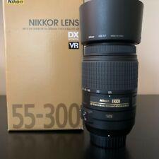 Nikon AF-S DX NIKKOR 55-300mm f/4.5-5.6 ED VR Lens - excellent condition