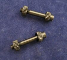Walther P-38 Grip Screws and Escutcheons.  Sold in 2 sets