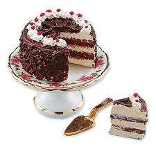 Reutter Porzellan Black Forest Gateau / Black Forest Cake Dollhouse 1:12
