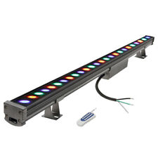 "39"" Stage Lighting Bar Led Rgb Wall Dmx Rgb Color Strip Dj Wash Up Light Bar"