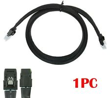 Mini SAS 36Pin SFF-8087 to 36Pin SFF-8087 SAS Data Internal  Server Cable 3ft 1m