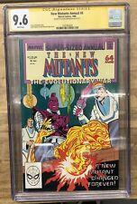 New Mutants Annual 4 (1988) CGC 9.6 SS Louise Simonson Magma Magik Magneto MCU