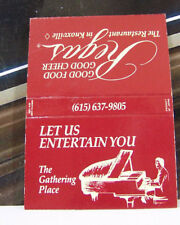 Rare Vintage Matchbook Cover B2 Knoxville Tennessee Gathering Piano Entertain