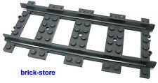 LEGO® Eisenbahn Schienen Gerade / 1 Stück  / 7938,7939,3677,60051,60052,60098