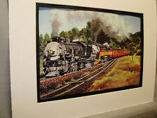 Southern Pacific ar San Luis Obispo artist Color  Railroad Archives Hi