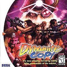 Dynamite Cop (Sega Dreamcast, 1999) NO MANUAL
