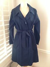 Marc By Marc Jacobs Standard Supply Navy Trench Coat- Size L -New $498