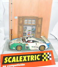 SCALEXTRIC PORSCHE 911 GT1 EVO #28 EFFEKT GUMMI ONLY IN SETS.MINT UNBOXED MINT