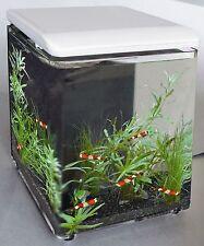 SF Home 8 Miniaquarium mit LED Beleuchtung,Nanoaquarium weiß