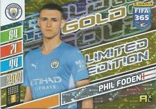Panini Adrenalyn XL Fifa 2022 Limited Edition  Gold Phil Foden