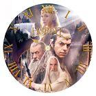 Grande Pendule Horloge Murale Ronde Tiré du film The Hobbit Un Voyage Neuve