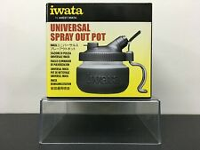 Anest Iwata Workstation Airbrush Cleaning Tools Universal Spray Out Pot CL300