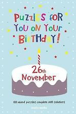 Puzzles for You on Your Birthday - 26th November by Clarity Media (2014,...
