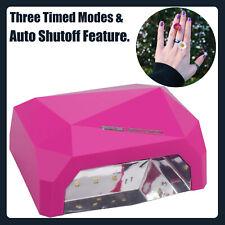 LED UV Lamp Nail Art Dryer Curing Auto Shutoff Timer Polish Nail Light 36W CA
