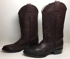 MENS NFL COWBOYS EDITION BROWN BOOTS SIZE 12