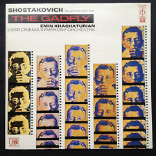 Shostakovich GADFLY Film Soundtrack LP Emin Khachaturian USSR Cinema Symphony 86