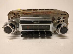 1970 Buick Electra/Wildcat/Lesabre AM Radio Delco 04BPB1 Sonomatic WORKING