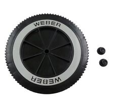 Weber Grill Wheels 4082850 6413 99252 42720 8 Inch Wheel and Hub Cap