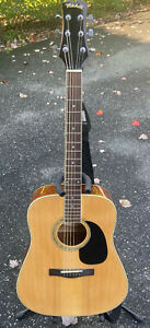 Mitchell MD-100 Acoustic Guitar 6 String with Stand & Strap