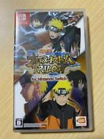 Nintendo Switch Naruto Shippuden: Ultimate Ninja Storm Trilogy Japan Import