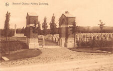 R333552 Kemmel Chateau Military Cemetry. Nels. Ern. Thill