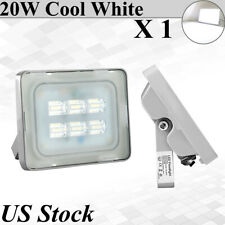 20W Watt LED Flood Light Cool White Outdoor Security Work Spotlight Lighting USA