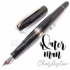Wtaerman Special Edition Charleston Black Chrome Trim 18K  Fountain Pen
