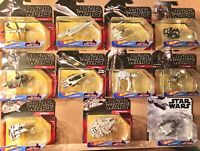 2020 Hot Wheels Star Wars Starships Lot of 11. All are new and unopened.