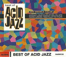 Various Best Of Acid Jazz 2x CASSETTE ALBUM House, Acid Jazz, Contemporary Jazz