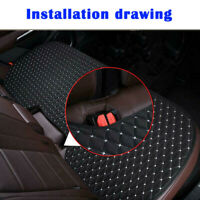 1x Car Breathable Rear Seat Cushion Leather Interior Covers Protections Parts