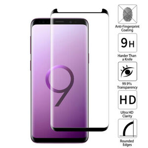 For Samsung Galaxy S6 Edge S7 S8 S9 Plus Note8 9 Tempered Glass Screen Protector