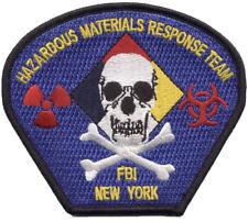FBI New York Hazardous Materials Response Team Patch.