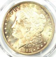 1891 Morgan Silver Dollar $1 - PCGS MS64+ PQ - Rare Plus Grade - $700 Value!