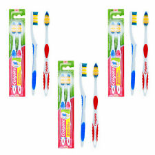 Colgate Classic Clean Soft Toothbrush Combo with Tongue Cleaners Every Day 3Pack