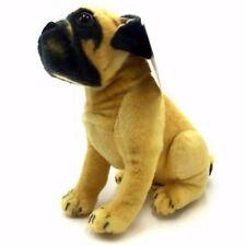 New Large 60cm Pug Bull Dog Soft Plush Cuddly Toy Real Life Look Gift uk