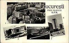 București Bucarest Romania Romania AK 1962 POSTCARD varie viste di città