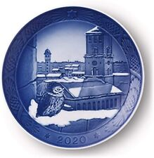 Royal Copenhagen 2020 Christmas Collectors Plate ~ New in Box!