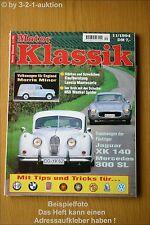 Motor Klassik 11/94 DB 300 SL Jaguar XK Lancia Morris