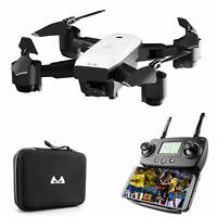 FPV Drone 1080P HD Camera Live Video GPS Foldable Quadcopter Long Flying Selfie