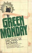 Green Monday by Michael M. Thomas (1981, Paperback)