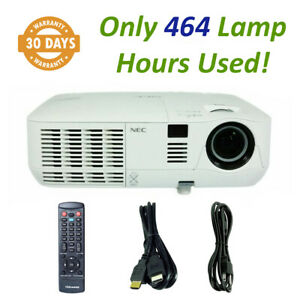 NEC NP-V311X DLP Projector V311X, 3100 ANSI HD 1080i - Only 464 Lamp Hours Used!