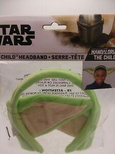 Star Wars Mandalorian Baby Yoda Birthday Party Headband Costume Cosplay NIP